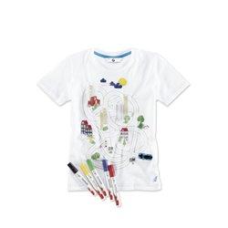 T-shirt BMW interactif pour enfant.
