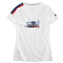 T-shirt graphique BMW Motorsport pour femme