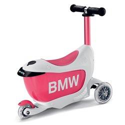 Trottinette BMW pour enfant (blanc/rose)