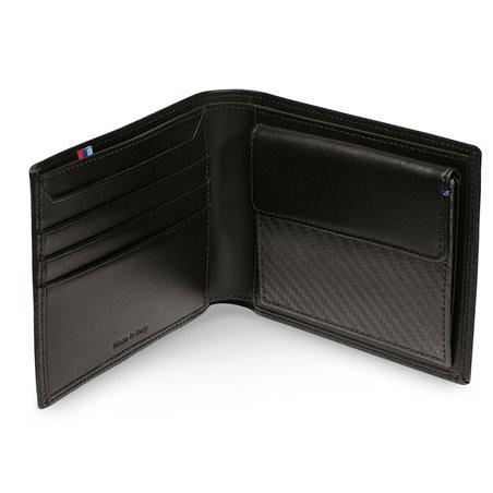 Portefeuille (avec compartiment monnaie) BMW M