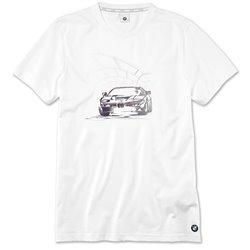 T-shirt graphique BMW pour homme.