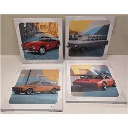 Jeu de toiles BMW Classic