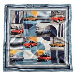 Foulard de soie BMW Classic