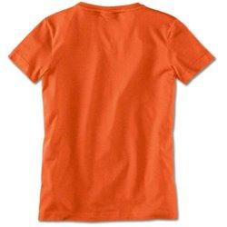 BMW T-shirt femme fashion Orange