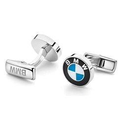 BMW boutons de manchette LOGO (silver)