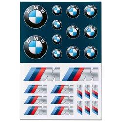 Set d'autocollants BMW
