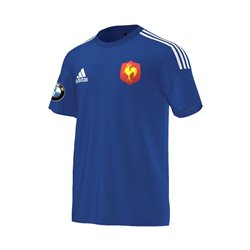 T-shirt Sport Adidas  « XV de France / BMW »