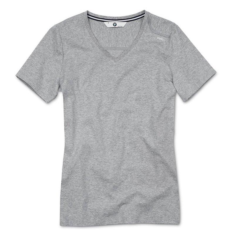 T-shirt BMW pour femme avec col en V
